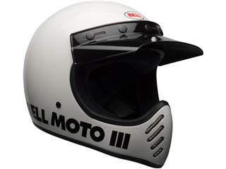 Casque BELL Moto-3 Classic White taille M - 307bb613-75cb-4fef-b377-5854314bc0ef