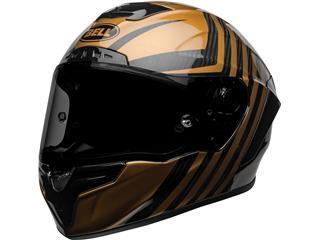 BELL Race Star Flex DLX Helmet Mate/Gloss Black/Gold Size L - 800000204670