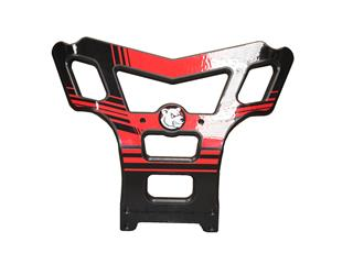 Bumper AXP Baxper PHD noir/rouge Honda TXR450