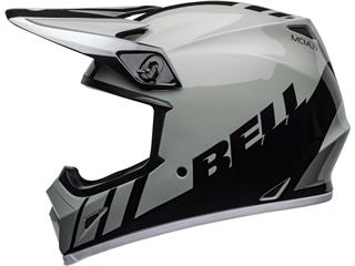 Casque BELL MX-9 Mips Dash Gray/Black/White taille XL - 30f1a83d-13bb-4155-82a9-ed6674e319bf