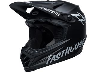 Casque BELL Moto-9 Youth Mips Fasthouse Matte Black/White taille YS/YM - 801000530168