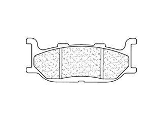 Plaquettes de frein CL BRAKES 2391S4 métal fritté
