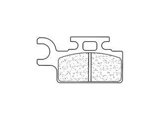 Plaquettes de frein CL BRAKES 1034MX10 métal fritté - 31809160-cd97-4f81-b50b-1e2f92d1a173