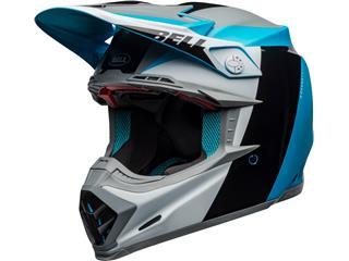 Casque BELL Moto-9 Flex Division White/Black/Blue taille L