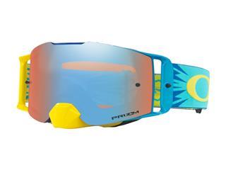 Masque OAKLEY Front Line Highvoltage Blue écran Prizm MX Sapphire Iridium Lens