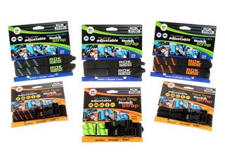 Sangle ROK Stretch réglable noir/bleu/vert - 31db8b25-f1ae-4e5f-b76e-14b11e1110e1
