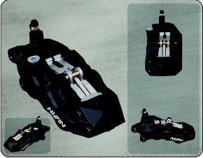 Etrier de frein 6 pistons avant droit noir Nissin - 31ea8778-10fb-4512-8e37-36f9393edf94