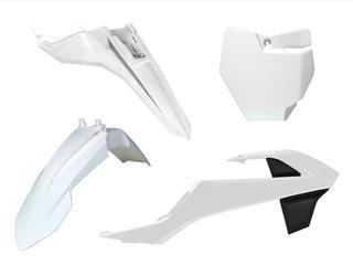 Kit plastique RACETECH blanc KTM 65 SX - 7804992