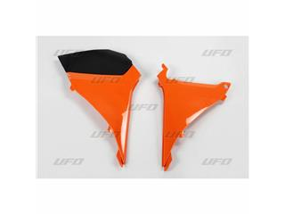Caches boîte à air UFO orange KTM - 78527553