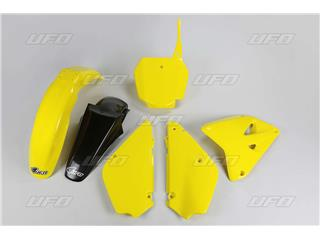 Kit plastiques UFO couleur origine 16 jaune /noir Suzuki RM85