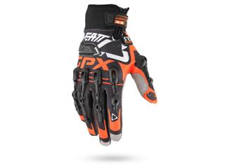 Handschuhe Leatt Brace GPX 5.5 WINDBLOCK schwarz/orange Gr. XS - 6