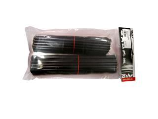 BIHR zwarte spaakbedekking voor 21' voorwiel en 18-19' achterwiel