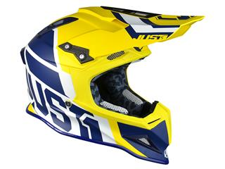 JUST1 J12 Helmet Unit Blue/Yellow Size S - 327b74bf-746e-40ee-ab6c-38e52661d65b