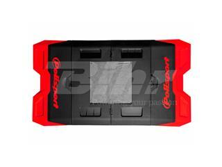 Tapete plástico Bike Mat Polisport vermelha - 328c0854-c9f7-428d-a4c1-e3af407bdfef