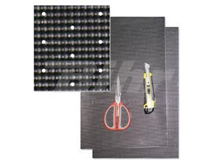 Adhesivo Blackbird Crystal Look Carbono - Con Superficie Transpirable 5004
