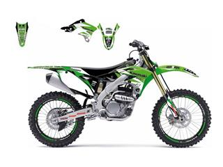 Kit déco BLACKBIRD Dream Graphic 3 Kawasaki KX-F250 - 78177127