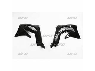 Ouïes de radiateur UFO noir Kawasaki KX450F