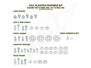 Complete set of Bolt plastic screws for Suzuki RM-Z450 /250