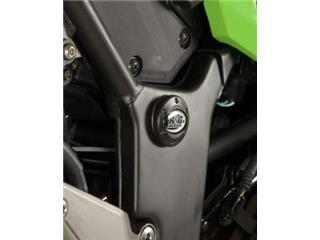 Insert de cadre gauche R&G RACING noir Kawasaki - 446647