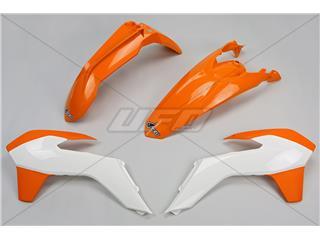 UFO Plastic Kit OEM Color (15-16) Orange/White KTM