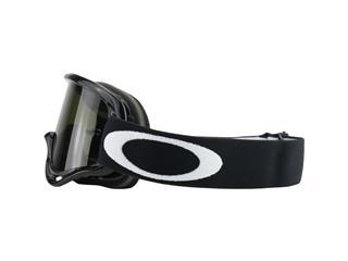 OAKLEY XS O Frame MX Sand Goggle Jet Black Dark Grey + Clear Lens - 335fb8e5-f77d-42aa-9f5a-b140c23ceb32