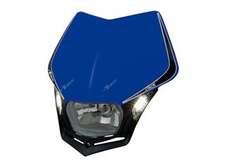 Plaque phare RACETECH V-Face Led bleu - 7805214