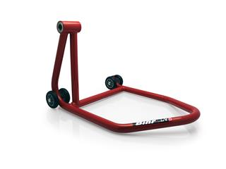BIHR BY LV8 Single Arm (Left) Rear Stand Red - Whithout Pin