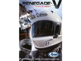 Flyer ARAI Renegade-V anglais  - 980776