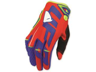 UFO Blaze Gloves Red/Blue Size 8(EU) - S(US)  - GA04399BS