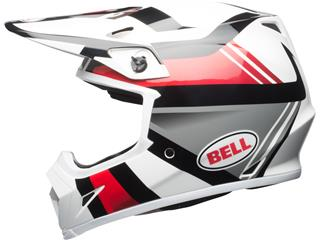 Casque BELL MX-9 MIPS Gloss White/Black/Red Marauder taille XXL - 3453b871-f387-454c-be64-743fbb5d5b04