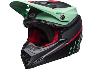 BELL Moto-9 Mips Helmet Prophecy Matte Green/Infrared/Black Size S