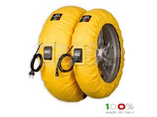 Calentadores CAPIT Suprema Vision Color amarillo (17'' - Del.120/Tra.200/55)