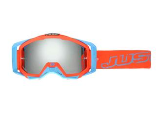 JUST1 Iris Goggle Neon Red/Blue