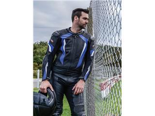 Veste RST R-16 cuir bleu taille S homme - 35116e51-1dd7-4cfb-93ec-4c4d771abf0f
