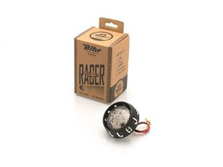 Feu arrière LED homologué clair Bihr flying saucer noir