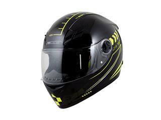 BOOST B550 Helmet Live Test Black/Yellow Size XL
