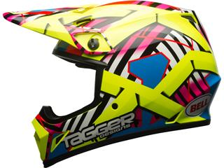 Casque BELL MX-9 Mips Tagger Gloss Double Trouble Yellow taille XL - 35aee960-afbb-4509-a30b-6a849eff208b
