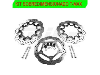 Kit sobredimensionado NG Ø298 (x2) + Ø282mm T-Max radial 2015-