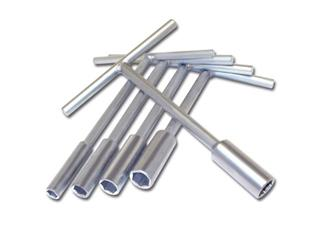 SET OF MINI T SPANNERS