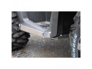 Proteção de estribo AXP, alumínio, 4 mm, Polaris Sportsman 570