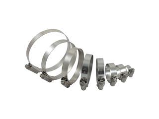SAMCO Radiator Hoses Clamps Kit for Radiator Hoses 44080937/44080938 - 44080940