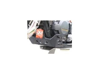 AXP GP HDPE Skid Plate Black/Orange Sticker KTM SX125