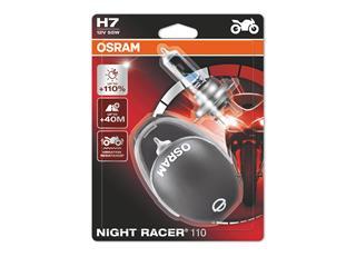 Ampoule OSRAM H7 Night Racer 110 12V/55W culot PX26d Blister 2pcs + casque - 36843130-d8d8-432b-b2f2-e985aeb45c03