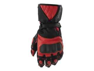 RST GT CE Leather Gloves Red Size M - 815000020309