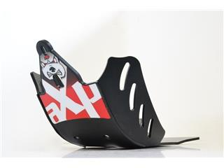 AXP GP HDPE Skid Plate Black/Red Yamaha YZ250F
