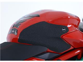 R&G RACING Tank Traction Pads Set 2 Pieces Black Ducati Supersport S