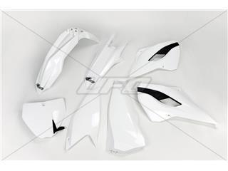 Kit plastique UFO couleur origine (2014) blanc/noir Husqvarna - 78641700