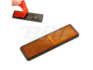 Reflex rectangular con adhesivo. Ambar. - 11751