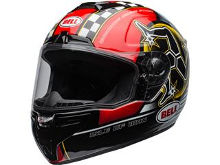BELL SRT Helmet Isle of Man 2020 Gloss Black/Red Size XL