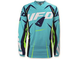 UFO Element Jersey Turquoise/Yellow Size XXL